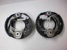 "2 -DEXTER Snowmobile Trailer Axle Electric Brake 7"" x1.25 Backing Plates 2000#"