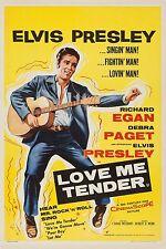 LOVE ME TENDER 1956 Elvis Presley, Richard Egan, Debra Paget UK 20x30 POSTER