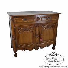 Antique 18th Century French Louis Xv Walnut Sideboard or Server
