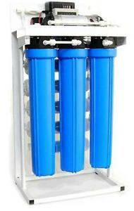 Light Commercial Reverse Osmosis Water Filtration System 200 GPD + Booster Pump