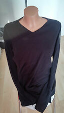 Damen-Pullover & Strickware mit Wasserfall und Baumwollmischung ohne Muster