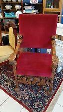 Throne chair - circa 1880 - Gothic - Louis Xiii