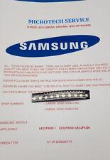 LUMEN SAMSUNG d2ge-320sc1-r0 d2ge-320sc0-r3 10 pezzi Kit di riparazione LED Flip