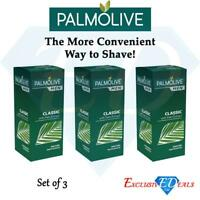 Palmolive Men Classic Palm Extract Shave Stick Keeping Smooth Soft Skin 50g x 3