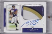 Miles Boykin 2019 National Treasures 3 Color Patch Rc On Card Auto (16/99)