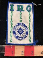 Vtg c1970s IRO INDIANAPOLIS RACE ORGANIZATION SCCA Sports Car Racing Patch 03I