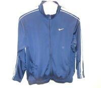 Nike Tech Fleece Full Zip Active Sweatshirt Mens Size XXL Blue/White Stripes