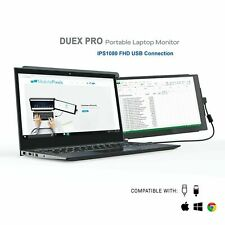 """Mobile Pixels DUEX PRO Portable Monitor for Laptops 12.5"""" Full HD IPS USB C/A"""