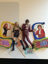 Austin Powers  Action Figures Bundle Job Lot