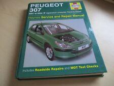 HAYNES PEUGEOT 307,2001-2004 ( y reg on )petrol / diesel. ONE OWNER.