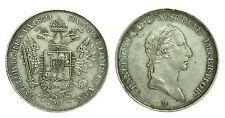 pci0418) Milano Lombardo Veneto Francesco I d'Asburgo SCUDO LIRE 6 1830 - RRR !!