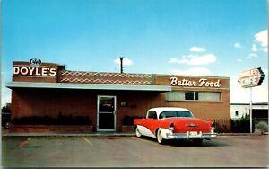 Postcard Doyle's Cafe in Abilene, Texas~4063