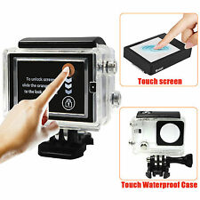 LCD Bacpac Touch Screen Display + 3M Waterproof Touch Case for GoPro Hero 3+ 4