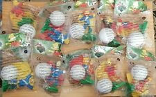 2002 BURGER KING UK - SIMPSONS SOCCER - COMPLETE SET OF 10 TOYS MINT IN PACKAGE