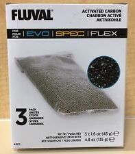 Fluval Spec Activated Carbon Filter Media Bags Aquarium Quality Fish + Free Ship