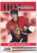 2011 11-12 Score #552 Mika Zibanejad HR SP Short Print RC Rookie