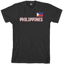 Threadrock Men's Philippines National Team T-shirt manila flag