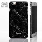 Personalizzato Marmo custodia Cover per iPhone Modelli con stampato Nome/