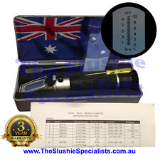 10ATC BRIX Refractometer REF111 Boxed: Express Post Aust supplier w 3yr Warranty