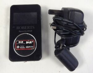 Roberts Sports DAB DAB/FM Portable Rechargeable Radio In Black + Mains Charger