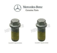 Mercedes W219 W211 R230 CLS55 E55 SL55 AMG Pair Set Of 2 Engine Oil Drain Plugs