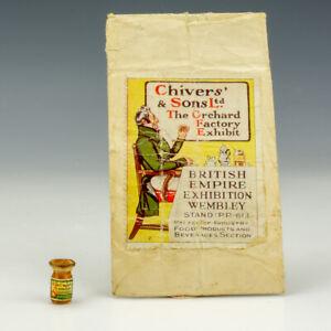 Antique Chivers & Sons - Miniature Marmalade Jar - British Empire Exhibition