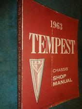 1963 PONTIAC TEMPEST SHOP MANUAL / SERVICE BOOK / ORIGINAL