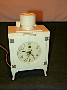 General Electric GE Telechron Promo Refrigerator Clock 1930'sVintage (F762)