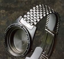 Flat 19mm end polished smooth NSA 1960s dive chronograph watch band Swiss 2 sold