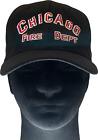 CHICAGO FIRE DEPARTMENT BASEBALL CAP - Black