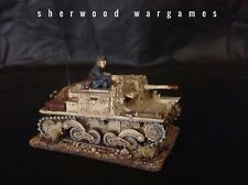 28mm Italian Semovente 47/32 With Crew In Resin Blitzkrieg WWII Bolt Action