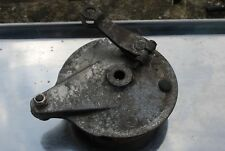 yamaha ty50 rear brake plate with good shoes    see ebay shop breaking bike 1G7