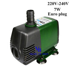 198 GPH 220V Submersible Pump Aquarium Pond Powerhead Fountain Water Hydroponic