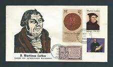US Stamps  FDC / MARTIN LUTHER #2065 /   1983