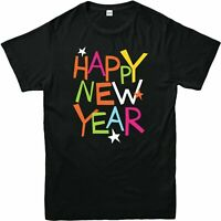 Funny Trendy Grateful HAPPY NEW YEAR 2021 Gift Tees Printed T Shirts TOP 3/4-4XL