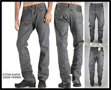 jeans da uomo g-star denim g star slacks loose tapered cavallo basso larghi w29