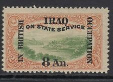 IRAQ SGO26 1920 8a on 2½pi - mounted mint