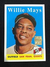 Willie Mays 1958 Topps Baseball Card