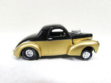 Vintage Racing Champions 41 Willys Gold Black Car 1997 China