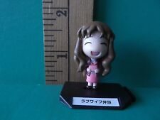 "Azumanga Daioh 'Kimura's Wife' 1.5""in Figure Long hair brunette cute and happy!"