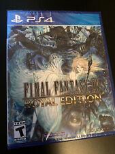 Sony Playstation 4 Ps4 Final Fantasy Xv 15 Royal Edition * Factory Sealed
