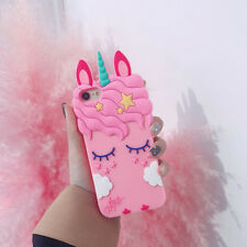 Girls Pink Unicorn Case for iPhone X - FREE SHIPPING