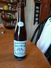 Vintage BELIKIN Beer Bottle BELIZE Rare Brewery Collectible Antique Glass Bar Oz