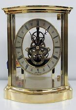 "SETH THOMAS SKELETON CLOCK IN BRASS  ""MGO1516"""