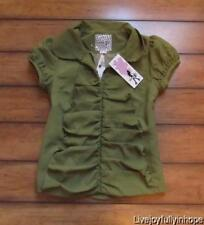 KENSIE GIRL ~ NWT!  Size Small ~ Sweetest PIXIE Girl Snap Button Jacket