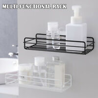 Bathroom Rustproof Bath Suction Caddy Tidy Storage Basket Shelf Holder GI8