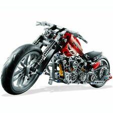 Technic Motorcycle Exploiture Model Harley Vehicle Building Bricks Block Set Toy