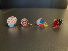 Multicolor Fruit Ice Cream Cake Candy Strawberry Pins Badges Collectibles Brooch