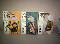 SHADOW LADY star comics 1997 SERIE COMPLETA 1/3 ORIGINALE OTTIMA/NUOVA ...MANGA