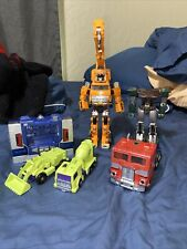 Lot of 80s Transformers Toys